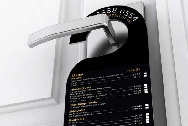 Glossy Door Hangers | Printing New York