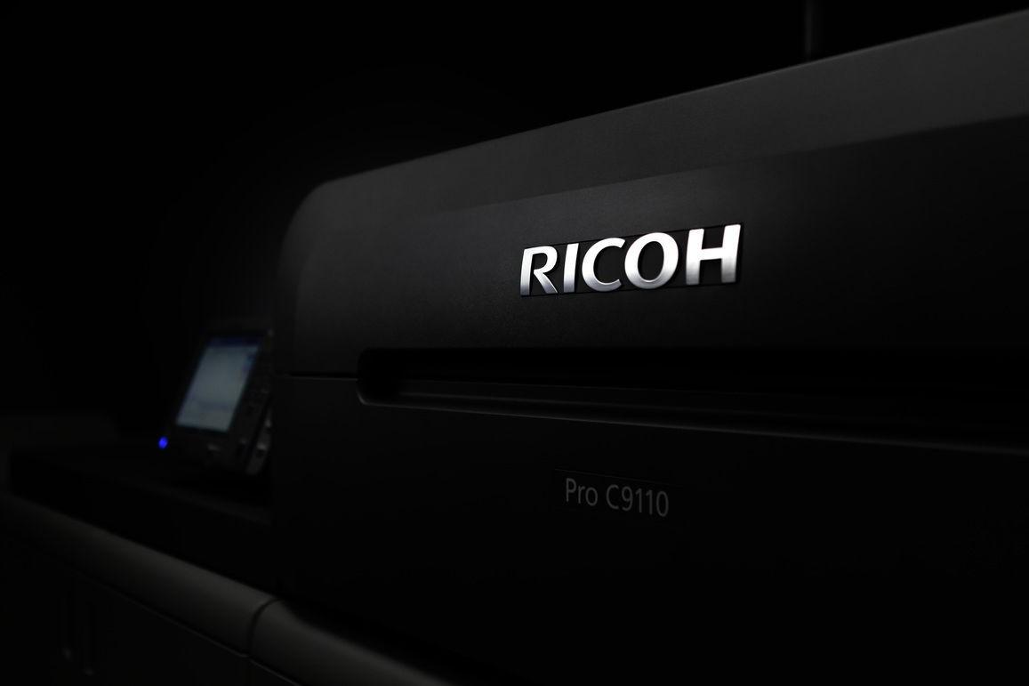 Meet our new RICOH Pro C9110 digital printing press!